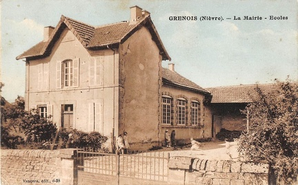 Grenois mairie ecole