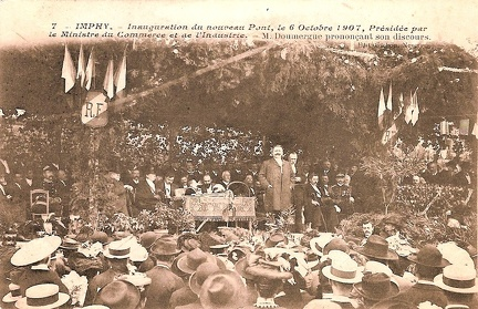 Imphy inauguration 1907