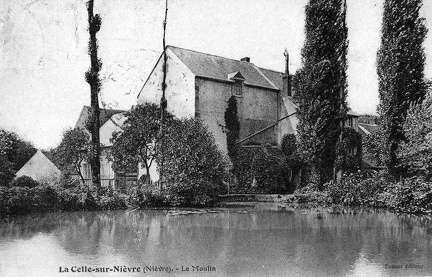 La Celle sur Nièvre moulin