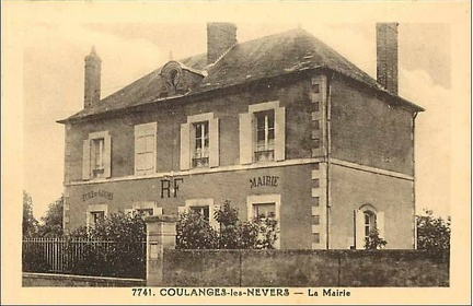 Coulanges les Nevers Mairie