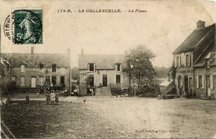 La Collancelle place