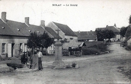 Nolay bourg
