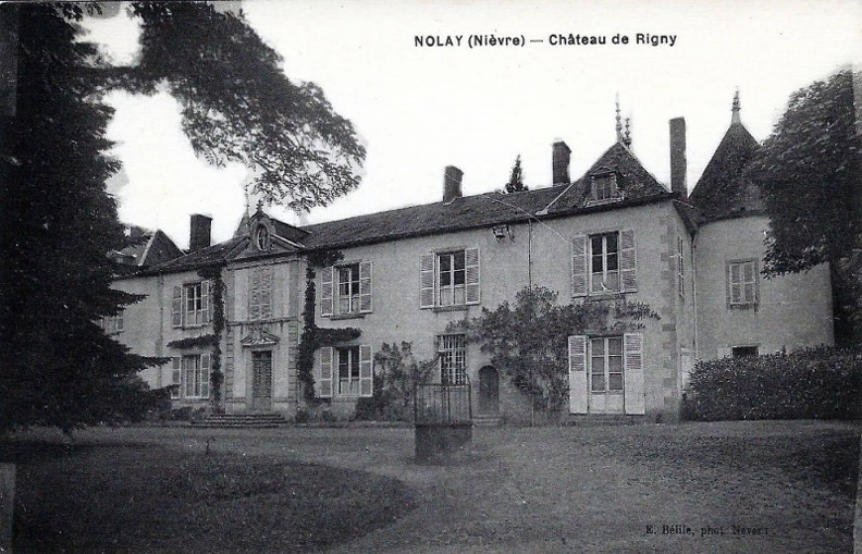 Nolay chateau de Rigny