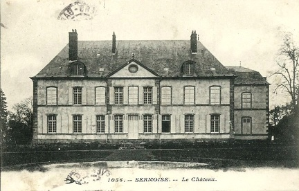 Sermoise chateau