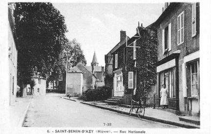 Saint Benin d'Azy Rue nationale