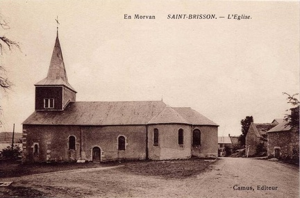 Saint Brisson Eglise