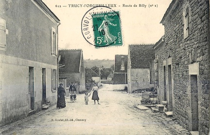 Trucy l'Orgueilleux route de Billy