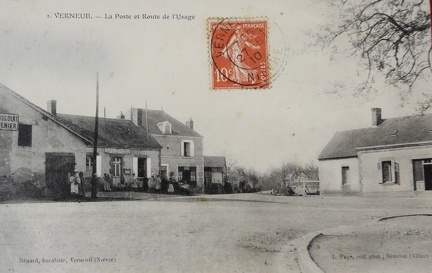 Verneuil poste
