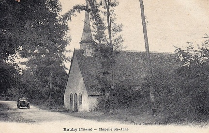 Bouhy Chapelle Sainte-Anne
