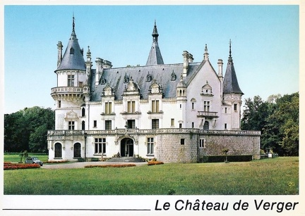 Suilly la Tour château de Verger