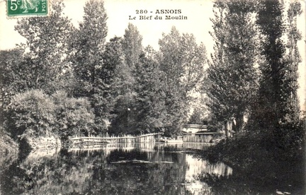 Asnois Bief du moulin