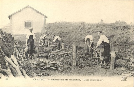 Clamecy fabrication des margotins
