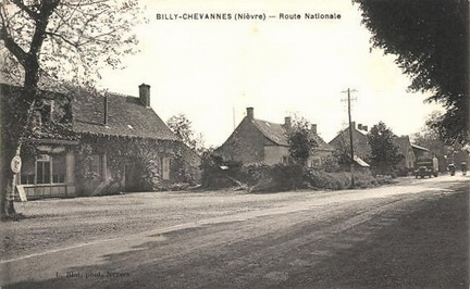 Billy Chevannes Route nationale
