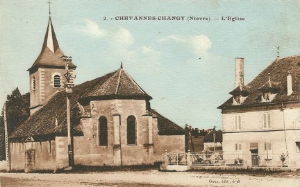 Chevannes Changy Eglise