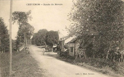 Chevenon Route de Nevers