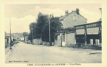 Coulanges les Nevers Pont Patin