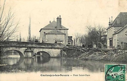 Coulanges les Nevers Pont Saint-Ours