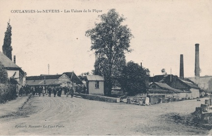 Coulanges les Nevers Usines de la Pique