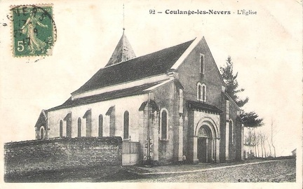 Coulanges les Nevers Eglise1