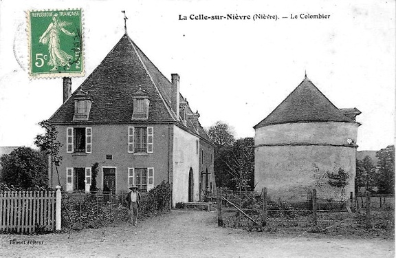 La Celle sur Nièvre Colombier