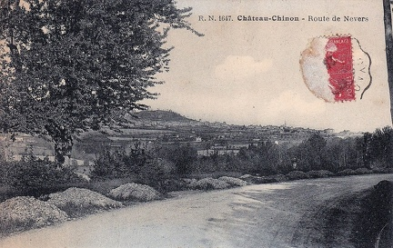 Château Chinon Route de Nevers