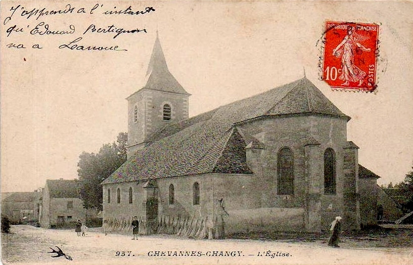 Chevannes Changy Eglise1