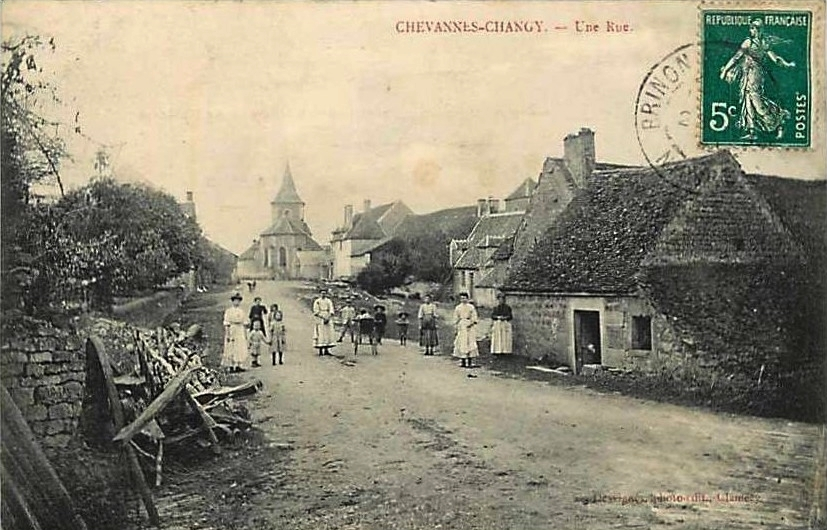 Chevannes Changy Rue